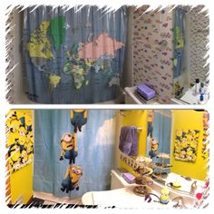 minion bathroom set. Before and after of my bathroom fishy to minions More from the minion by me drews wonder walls