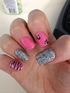 40 Stylish Pink Nail Art Ideas