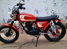 Modifikasi Honda CB 100 Jap Style Elegan