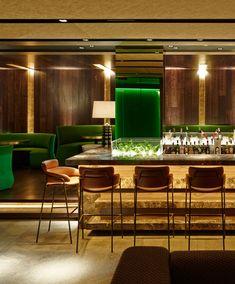 Hall Restaurante | El elegante Cuore Barcelona fue remodelado por Alfons Tost | www.decorarunacasa.es