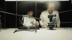 Sonic Water, a cymatics installation by Sven Meyer (Elfenmaschine) and Kim Pörksen (PIECE OF CAKE) on Vimeo Interactive Installation, Installation Art, Music Visualization, Sensory Stimulation, Out Of Body, Sound Art, New Media Art, Sound Design, Inspirational Videos