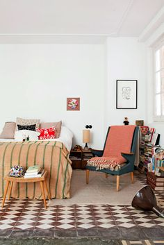 Pellmell Créations: Home tour : l'appartement de Luis Urculo