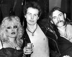 Nancy Spungen and Sid Vicious and Lemmy. The first wave of punk may have been over fast in London and even New York as bands and styles moved on, but punk has had one of the longest after-lives of any music scene. Its influence hit later in other places and the attitude and style were a big influence on Los Angeles rock bands like Motley Crue and early Guns N' Roses in the 1980s.