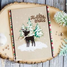 Simon Says Stamp Limited Edition Holiday Card Kit Reveal!
