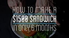 I spent 6 months and $1500 to completely make a sandwich from scratch. Including growing my own vegetables, making my own salt from ocean water, milking a co...