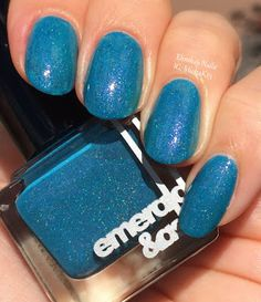 ehmkay nails: Emerald & Ash That's What She Said and Your Face Swatches and Review