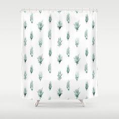 Air Plants Shower Curtain