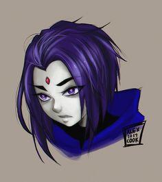 Raven doodle