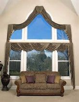 Which of the Arched Window Treatments is Better for You? best window treatments design,more window treatments ideas Picture Window Curtains, Curtains For Arched Windows, Ceiling Curtains, High Windows, Large Windows, Shower Curtains, Large Window Treatments, Window Coverings, Bay Window Design