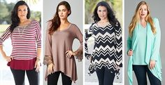BLOW OUT SALE! LONG TUNIC -S-3XL