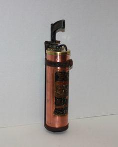 Vintage Stempel Brass and Copper PistolGrip Fire by riverjim, $62.00