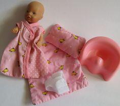 Baby Born Miniworld  Püppchen mit Schlaf Set