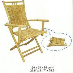 Bambusstuhl,Gartenstuhl,Klappstuhl,Balkonstuhl,