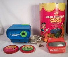 Vintage View-Master Projector & Viewer - Disney Theater In The Round - 16…