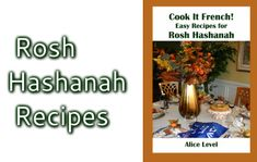 This traditional recipe from my family is simply delicious. It used to be served on the first night of Rosh Hashanah, but became so popular that it is now also a regular on our Shabbat (or any other...