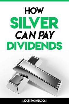 How Silver Can Pay Dividends Investing Investing For Retirement, Investing Money, Finance Blog, Finance Tips, Dividend Investing, Trading Quotes, Creating Wealth, Financial Success, Day Trading