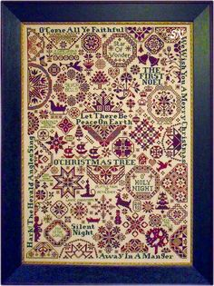 Quaker Christmas II - Songs of the Season from ByGone Stitches - click to see more Splendide !