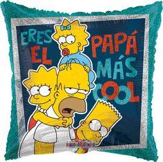 """Homero El Papá Más Cool 18"""" Globo Met Padre, COD: V2750018, UPC Code: V2750018, Venta En Linea, Mayoreo Globos, Metálicos/Mylar/Metalizados, 18-22"""", México. Teleglobos.com"""