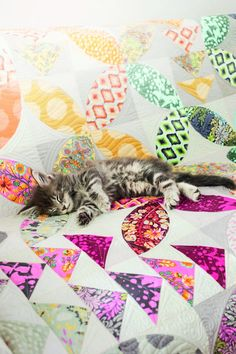 Free Tula Pink Birdseed Quilt pattern. Get creative with BERNINA: Sew it yourself with projects and sewing instructions. - BERNINA