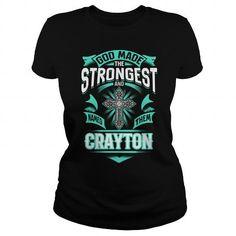 CRAYTON CRAYTONYEAR CRAYTONBIRTHDAY CRAYTONHOODIE CRAYTON NAME CRAYTONHOODIES  TSHIRT FOR YOU