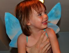 Easy Homemade Fairy Wings | Prudent Baby