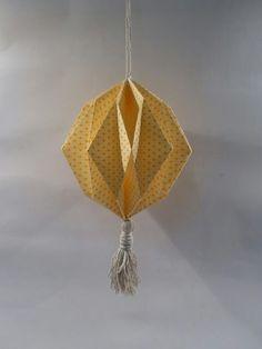 Origami (papier Adeline Klam) Paper Art, Paper Crafts, Diy Origami, Creations, Ceiling Lights, Pendant, Anna, Lifestyle, Google