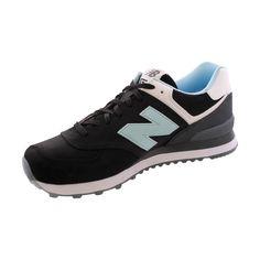 New Balance - Men's State Fair 574 Sneakers - Black/Blue