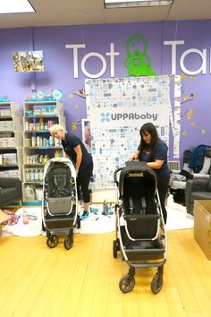 "Intuitive, innovative, highly functional AND they give back! Just a few reasons why we LOVE @UPPAbaby. Plus, we think these ""tune-up"" events for service and maintenance are genius!! #PNpartner"