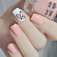types of makeup nails art nailart - nail care types of makeup . - types of makeup nails art nail art – types of makeup nails art nail art care - Cute Spring Nails, Spring Nail Art, Summer Toenails, Cute Acrylic Nails, Acrylic Nail Designs, Gradient Nails, Pastel Nails, Teen Nail Designs, Coral Nails