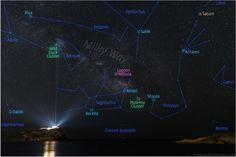 Η φωτό Ελληνα που ξεχώρισε η NASA: Ο Γαλαξίας πάνω από το Ναό του Ποσειδώνα |thetoc.gr