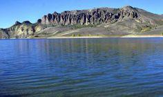 Colorado's Blue Mesa Reservoir in the Curecanti National Recreation Area near Montrose and Gunnison, Colorado