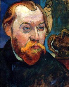 Portrait of Louis Roy, 1893 Paul Gauguin