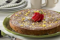Mamma Mia - this diabetic cake recipe is spectacular! Our Little Italy Cake has a lovely lemon flavor that makes it perfect for anytime of the year. Plus, there's a bonus - it's low-carb and gluten-free too!