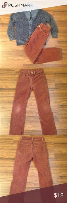 GAP corduroy pants This listing is for the colored GAP corduroy pants only. Boys 7slim. Shirt is in a separate listing. GAP Bottoms Casual