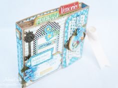 How to Create a Pocket Mini With Accordion Binding