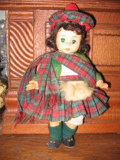 VINTAGE MADAME ALEXANDER Scottish Doll in by pandorasboxantiques