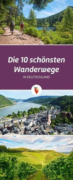Wanderurlaub in Deutschland erleben There are so many hiking routes, but we have listed the most beautiful from Germany – all info via Urlaubspiraten. Hiking Routes, Hiking Trails, Europe Destinations, Holiday Destinations, Voyage Canada, Empire Romain, Travel Tags, Voyage Europe, Destination Voyage