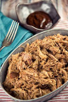 Pull Pork With BBQ Mustard Sauce