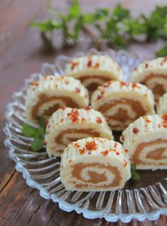 rulada-cu-zahar-ars Romanian Desserts, Romanian Food, Caramel, Sushi, Cake Recipes, Bacon, Sweet Treats, Muffin, Food And Drink