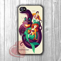 Ariel Mermaid Poster - zd for iPhone 4/4S/5/5S/5C/6/6+s,Samsung S3/S4/S5/S6 Regular/S6 Edge,Samsung Note 3/4