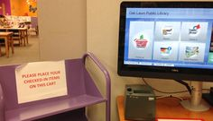 OLPL patrons can now check-in items at the self check machines. You can even get a receipt!