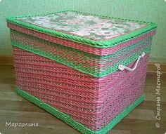 Поделка изделие Декупаж Плетение Продолжаю осваивать ситцевые узоры Бумага Бумага газетная фото 15
