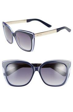 Jimmy Choo 'Octav' 55mm Retro Sunglasses | Nordstrom