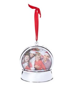 Look what I found on #zulily! Snow Globe Photo Ornament #zulilyfinds