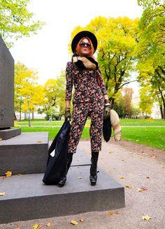 The wardrobe of Ms. B: Sunny Fall day
