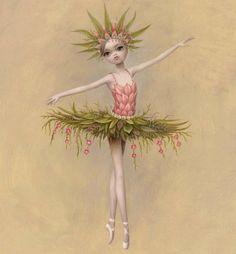 """'Princess Tea Flower,' from Mark Ryden's new ballet, """"Whipped Cream."""""""