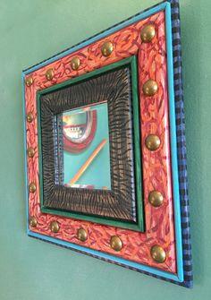 Savanna Petite Decorative Mirror by nataliespradlin on Etsy