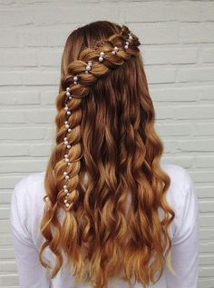 Holiday Ribbon Braid - Hairstyles How To