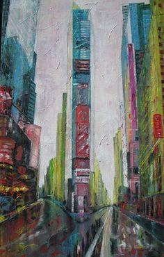 Times Square II by Barbara Piatti
