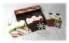 6″ x6″ Tag Pouch….& the last Holiday Blitz winner :: Andrea Walford - An {art}ful life & business